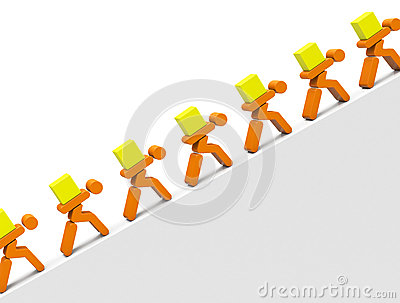 Harte arbeit clipart freeuse Hard Work Stock Illustration - Image: 50543416 freeuse