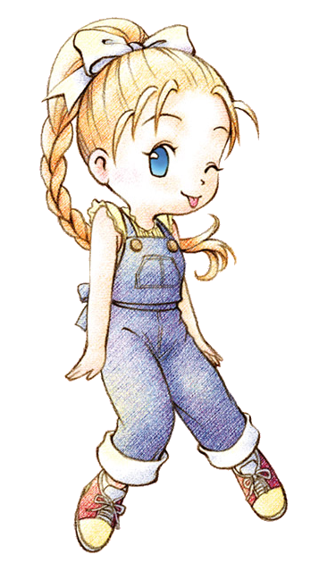 Harvest moon back to nature clipart picture freeuse stock Ann (BTN) | The Harvest Moon Wiki | FANDOM powered by Wikia picture freeuse stock