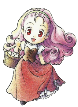 Harvest moon back to nature clipart graphic transparent Popuri Harvest Moon Back To Nature, she was one of the cutest ... graphic transparent