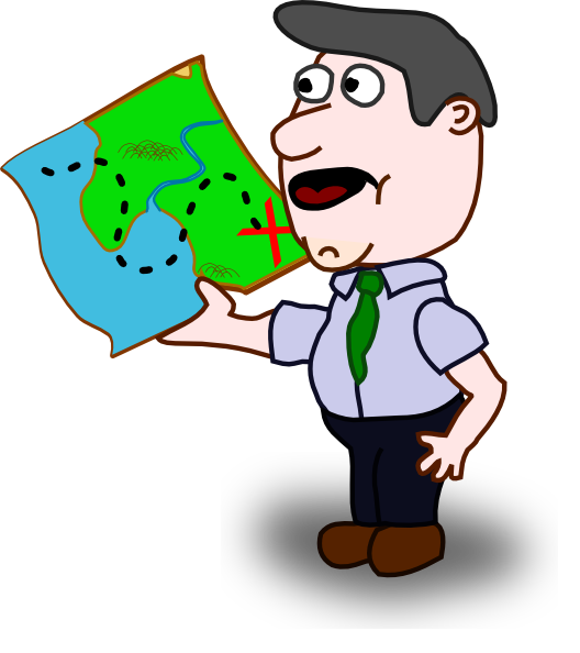 Holding money clipart image royalty free stock Man Holding Map Clip Art at Clker.com - vector clip art online ... image royalty free stock