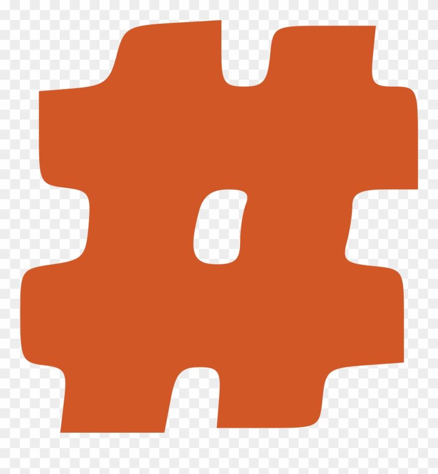 Hashtag clipart clip free stock Hashtag Vector Clipart Image Black And White Stock - Hashtag Clip ... clip free stock