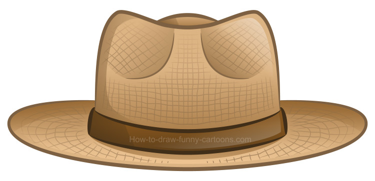 Hat cartoon clipart clip royalty free download How to draw a clipart hat clip royalty free download