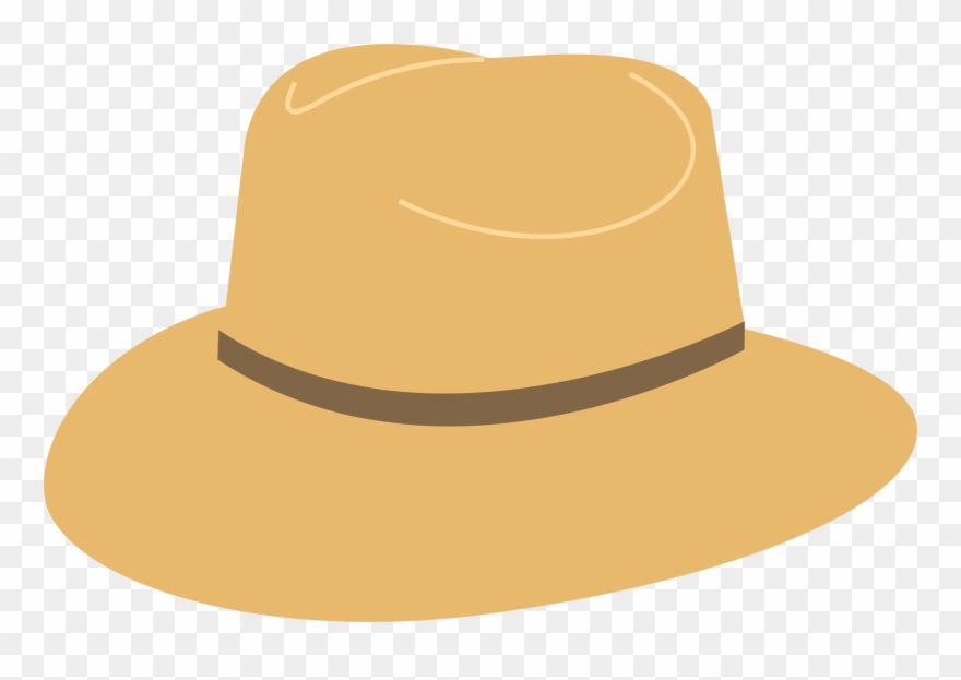 Sun hat clipart png vector freeuse download Sun Hat Clipart - Hat Beach Vector Png Transparent Png (#69452 ... vector freeuse download