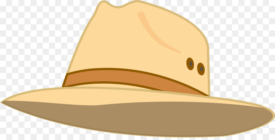 Sun hat clipart png svg black and white stock Cowboy Hat png download - 2400*1206 - Free Transparent Sun Hat png ... svg black and white stock