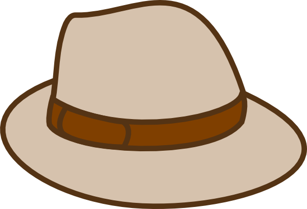 Clipart of a hat clipart royalty free library Beige Hat Clip Art at Clker.com - vector clip art online, royalty ... clipart royalty free library