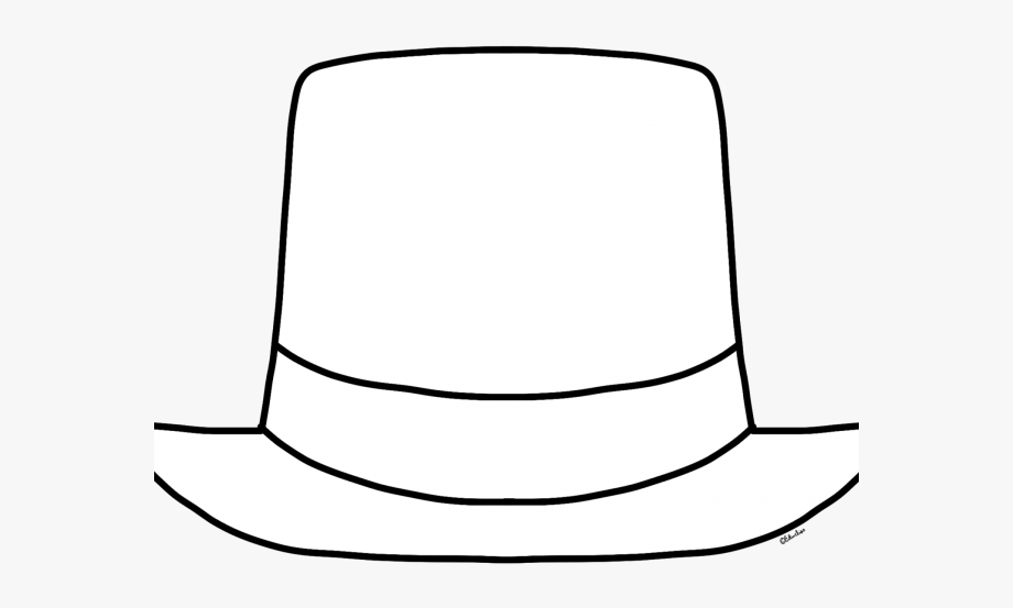 Hat cliparts freeuse Top Hat Clipart Fedora Hat - White Top Hat Clipart #1094837 - Free ... freeuse