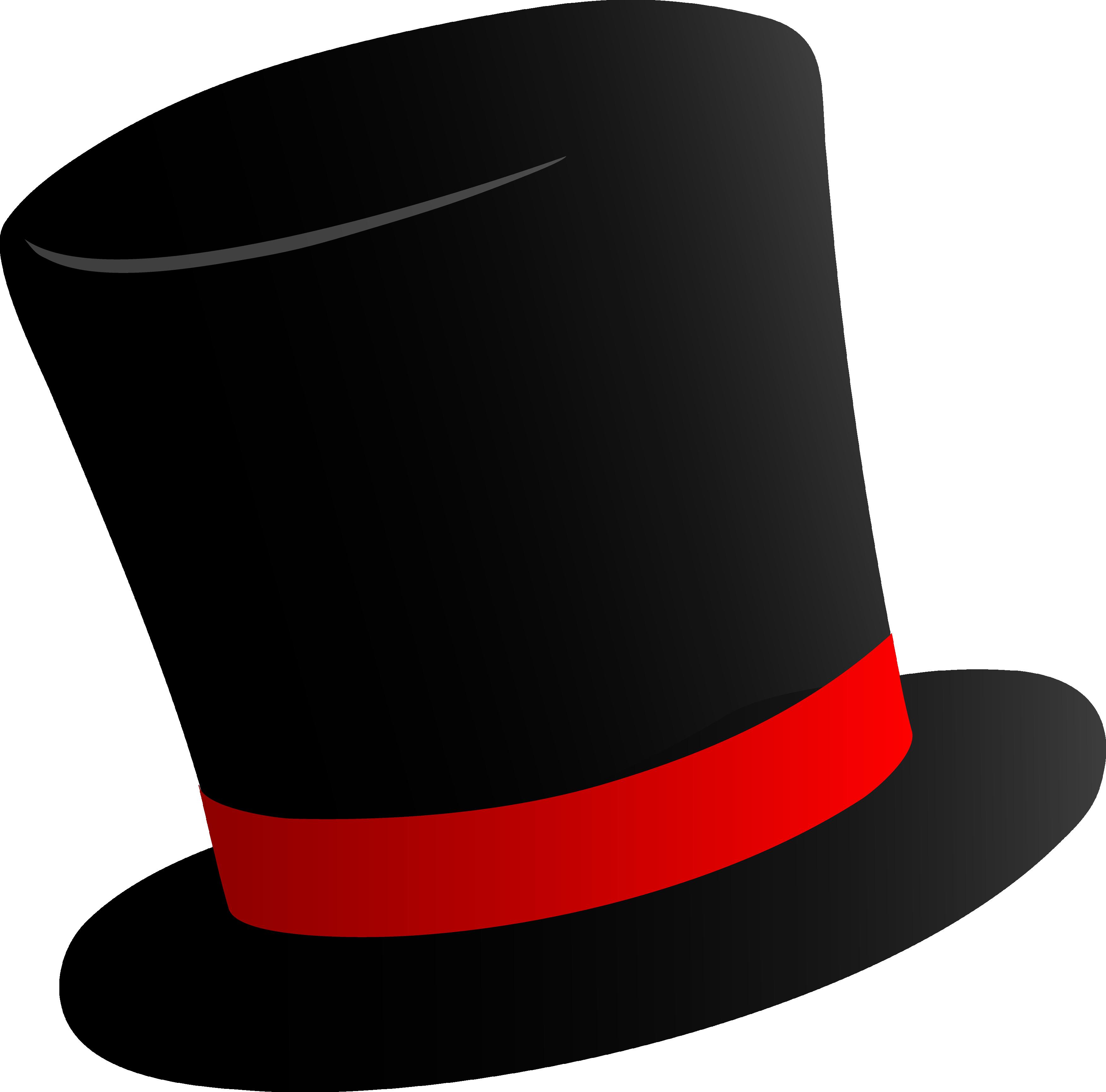 Hat png clipart svg download Black Top Hat PNG Image - PurePNG | Free transparent CC0 PNG Image ... svg download
