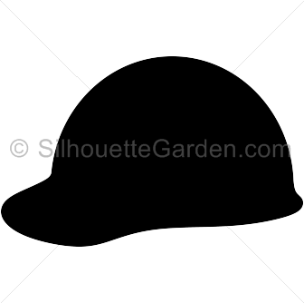 Hat silhouette clipart picture freeuse Hard Hat Silhouette picture freeuse