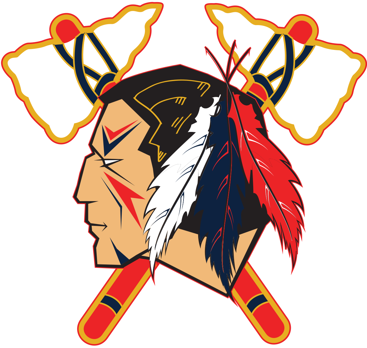Indian football clipart svg download Johnstown Tomahawks - Wikipedia svg download