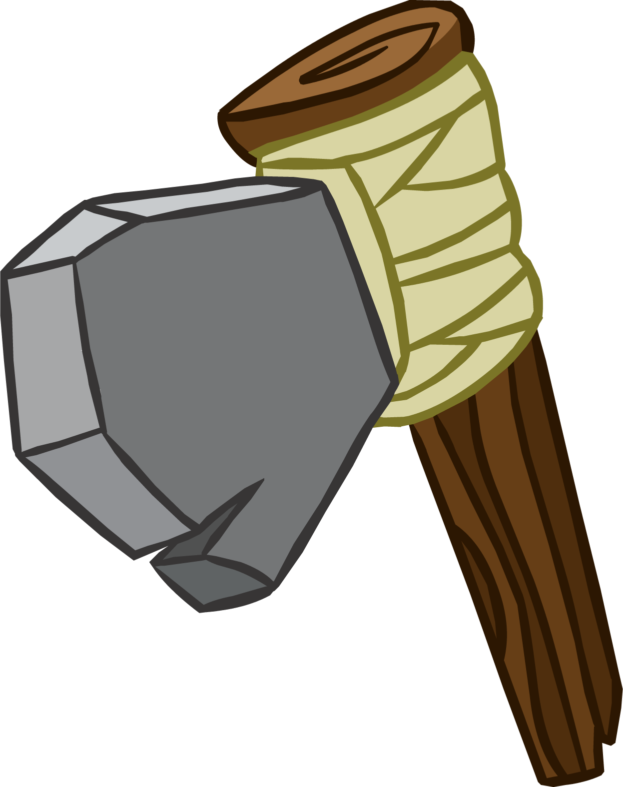 Hatchet from the book hatchet clipart png freeuse download Stone Hatchet | Club Penguin Wiki | FANDOM powered by Wikia png freeuse download