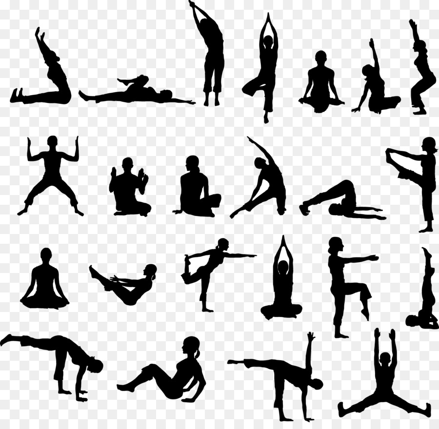 Hatha yoga clipart banner free library Yoga Cartoon png download - 1572*1513 - Free Transparent Yoga png ... banner free library