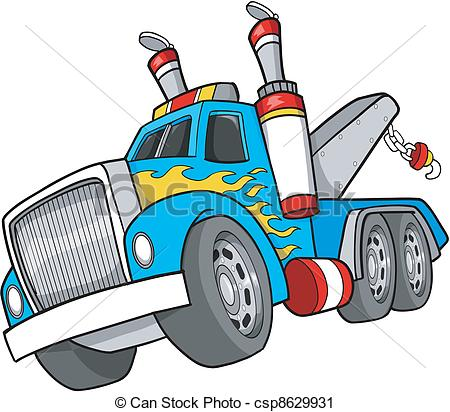 Haul clipart jpg library Vector Clip Art of Tow Truck | Clipart Panda - Free Clipart Images jpg library