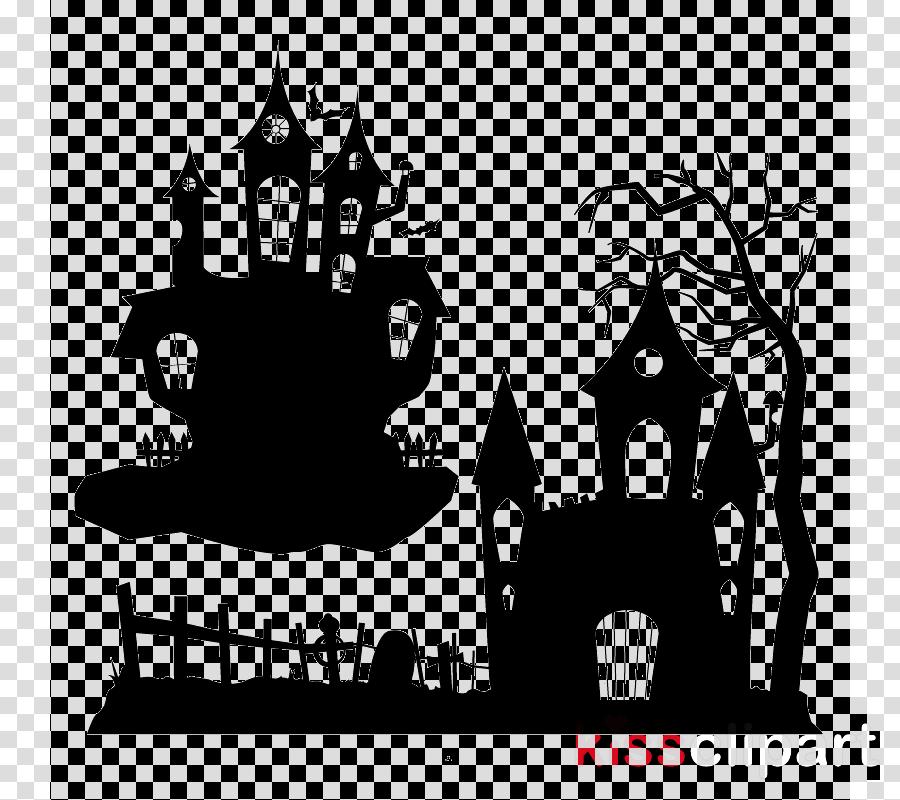 Haunted house vector clipart jpg transparent Halloween Haunted House clipart - Halloween, Graphics, Illustration ... jpg transparent