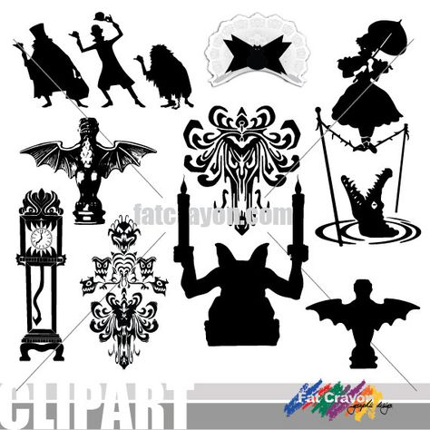 Haunted mansion clipart disney free Pinterest free