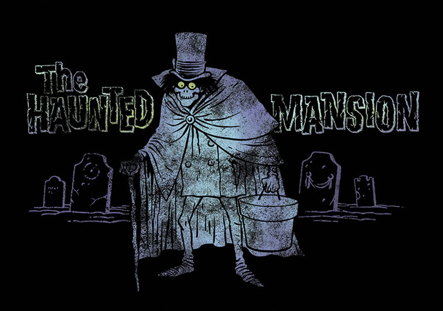 Haunted mansion ghosts on disneyland ride vehicles clipart jpg library The Hatbox Ghost - The Story jpg library