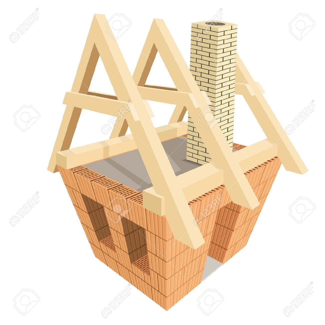 Haus bauen clipart picture library library Haus baustelle clipart - ClipartFest picture library library