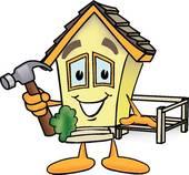 Haus bauen clipart image transparent Haus 2 - Stock Clip Art Illustrationen. Kaufen Sie Lizenzfreie ... image transparent