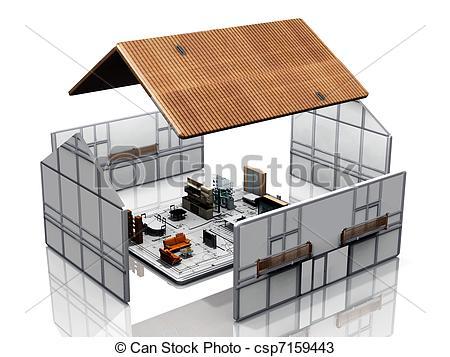 Haus bauen clipart png download Zeichnungen von Blaupause, haus, Bauen - haus, Bauen, auf, a ... png download