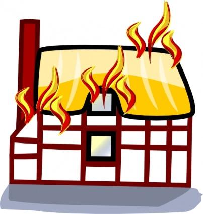 Haus brennt clipart banner freeuse Haus brennt clipart - ClipartFest banner freeuse