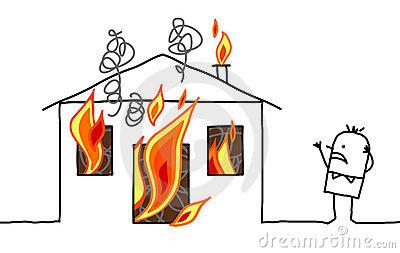 Haus brennt clipart svg stock Haus brennt clipart - ClipartFest svg stock