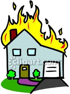 Haus brennt clipart clip art library House Fire Clipart | Clipart Panda - Free Clipart Images clip art library