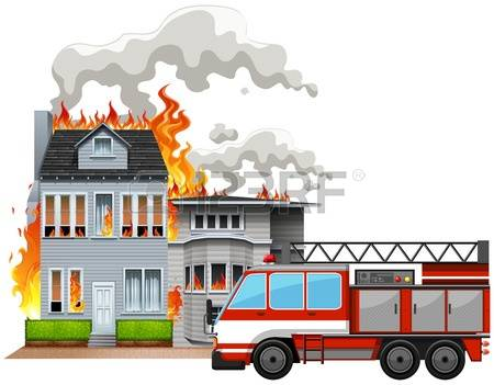 Haus brennt clipart clipart download Brennendes Haus Lizenzfreie Vektorgrafiken Kaufen: 123RF clipart download