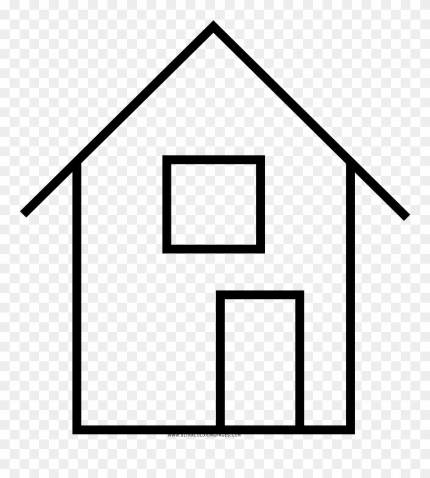 Haus clipart picture download Haus Ausmalbilder Ultra Coloring Pages Avec Haus Schwarz - Drawing ... picture download