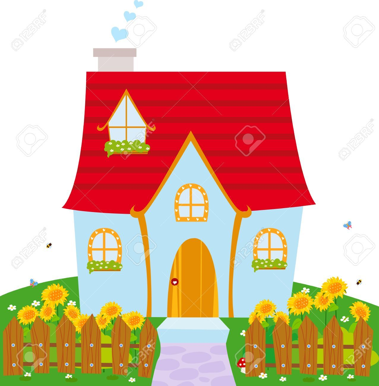 Haus clipart banner free stock Haus clipart free 1 » Clipart Portal banner free stock