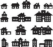 Haus clipart schwarz wei clipart freeuse White house Clipart and Illustration. 56,016 white house clip art ... clipart freeuse