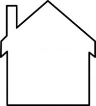 Haus clipart schwarz wei svg stock Cartoon House Clip Art Download 1,000 clip arts (Page 1 ... svg stock
