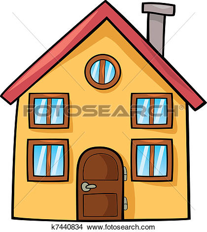 Haus cliparts jpg library stock House Clipart Vector Graphics. 188,164 house EPS clip art vector ... jpg library stock