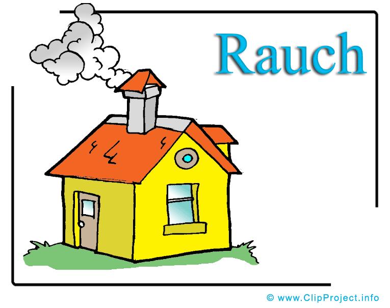 Haus cliparts kostenlos banner freeuse stock Rauch Clipart free Haus banner freeuse stock