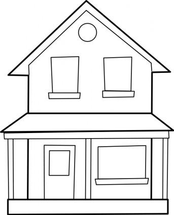 Haus cliparts kostenlos clip art library Haus Maison-Vektor-ClipArt-Kostenlose Vector Kostenloser Download clip art library