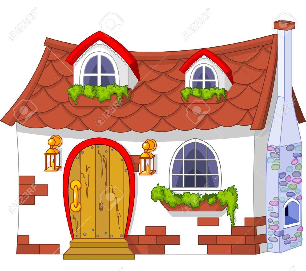 Haus mit garten clipart freeuse Ferienhaus clipart - ClipartFest freeuse