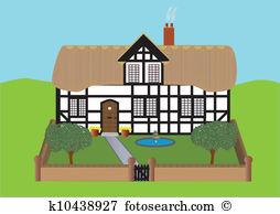 Haus mit garten clipart graphic Free cottage garden clipart images - ClipartFest graphic