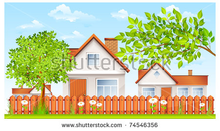 Haus und garten clipart royalty free download Vector garden house free vector download (2,341 Free vector) for ... royalty free download