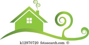 Haus und garten clipart graphic free library Landhaus garten Clipart und Illustrationen. 579 landhaus garten ... graphic free library