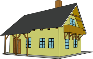 Hausbau clipart clip download 15103 Kostenlose Clipart Zeichnung Haus | Public Domain Vektoren clip download