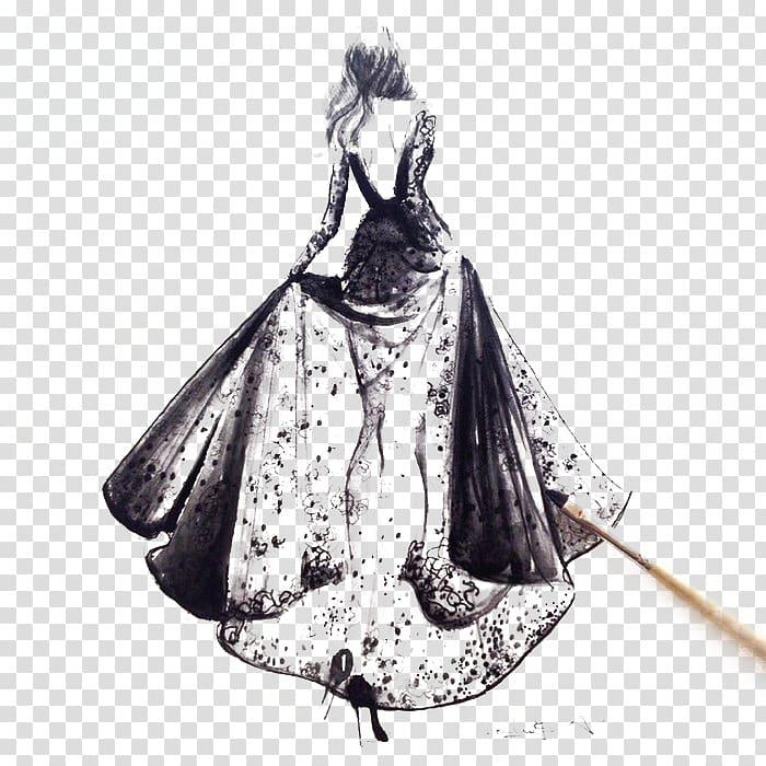 Haute couture clipart png freeuse Paris Fashion Week Fashion illustration Haute couture Illustration ... png freeuse