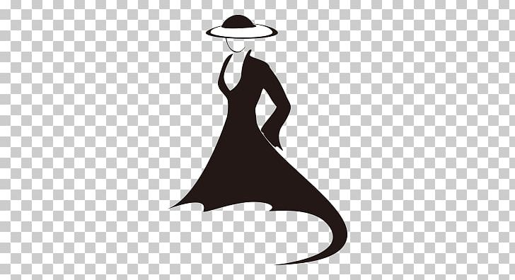 Haute couture clipart banner free library Fashion Clothing Haute Couture Dress PNG, Clipart, Black And White ... banner free library