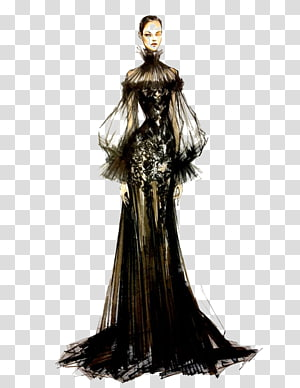 Haute couture clipart picture royalty free download Paris Fashion Week Fashion illustration Haute couture Illustration ... picture royalty free download