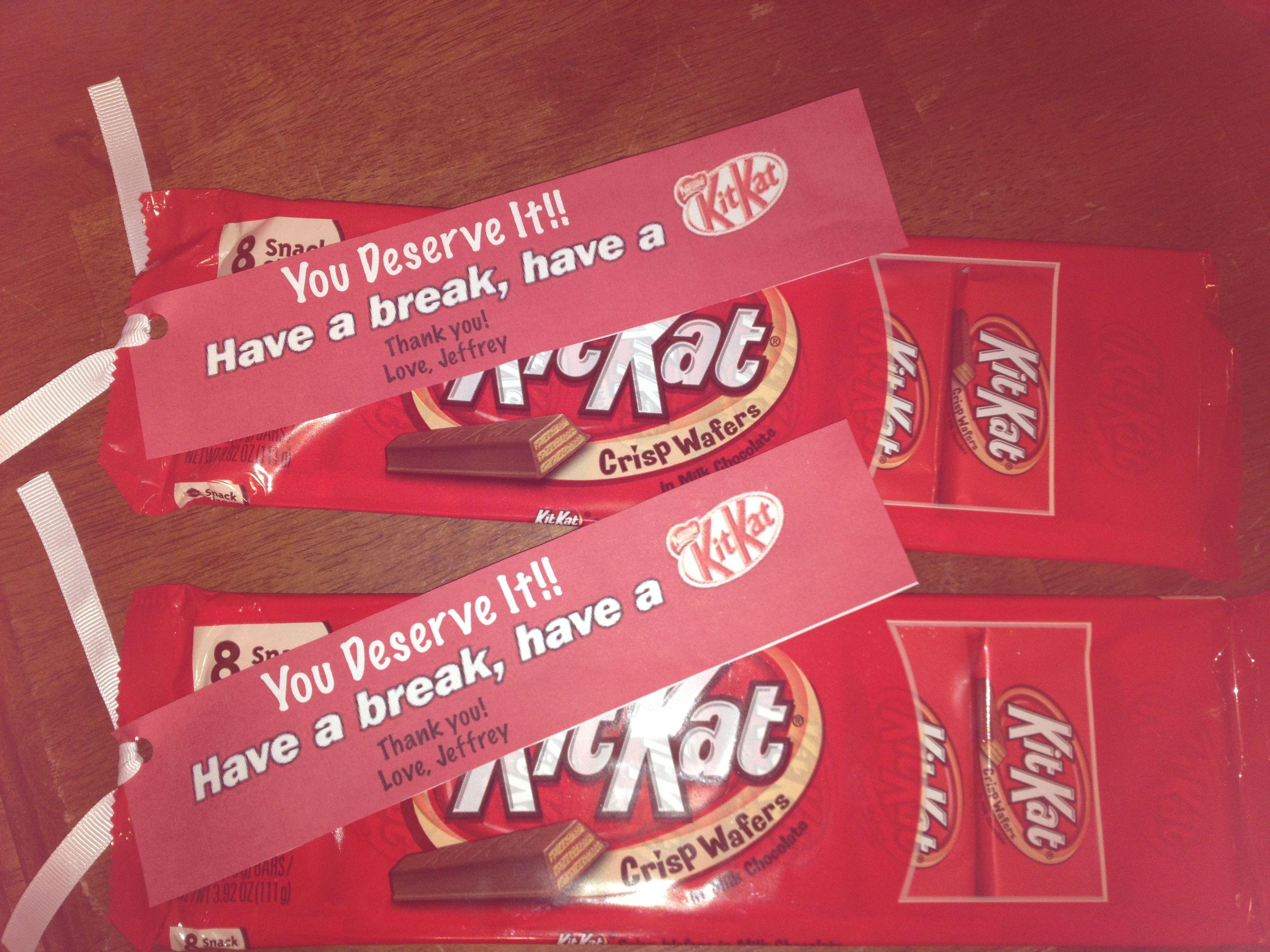 Have a break have a kit kat clipart clip stock You deserve a Kit Kat break | Staff Appreciation | Teacher ... clip stock