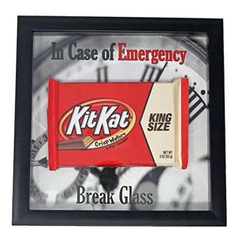 Have a break have a kit kat clipart graphic black and white library Amazon.com - Kit Kat Gimme a Break Candy Bar in Case of Emergency ... graphic black and white library