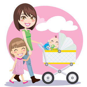 Having a baby clipart jpg black and white stock 9 Things No One Told You About Having Second Baby - Parenting Nation ... jpg black and white stock