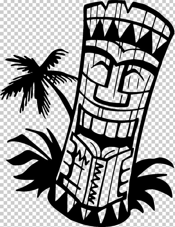 Tiki totem faces black and white clipart clipart royalty free stock Cuisine Of Hawaii Tiki PNG, Clipart, Aloha Shirt, Artwork, Black And ... clipart royalty free stock