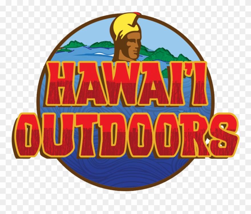 Hawaii logo clipart banner black and white Hawaii Outdoors Adventure Logo Design - Hawaii Clipart (#1264368 ... banner black and white