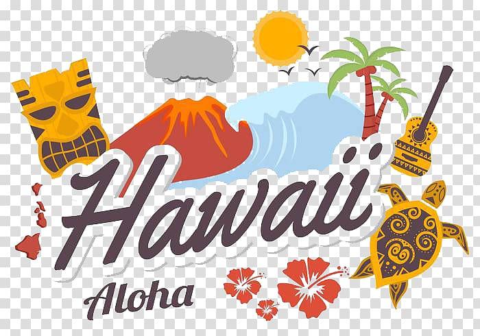 Hawaii logo clipart image library download Hawaii Aloha illustration, Hawaii Aloha Thailand, Coco sun volcano ... image library download