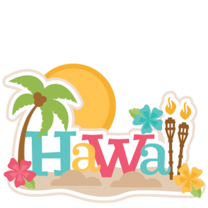 Hawaii logo clipart png freeuse Hawaii Title: Miss Kate\'s | flower | Aloha party, Vacation scrapbook ... png freeuse