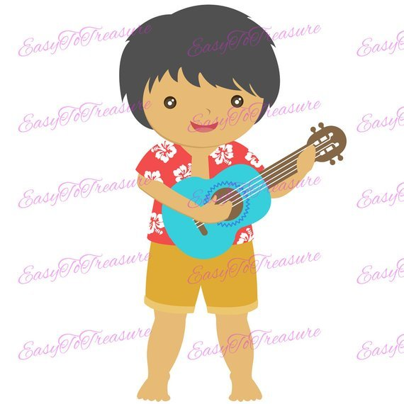 Hawaiian boy clipart black and white stock Hawaiian boy clipart » Clipart Portal black and white stock