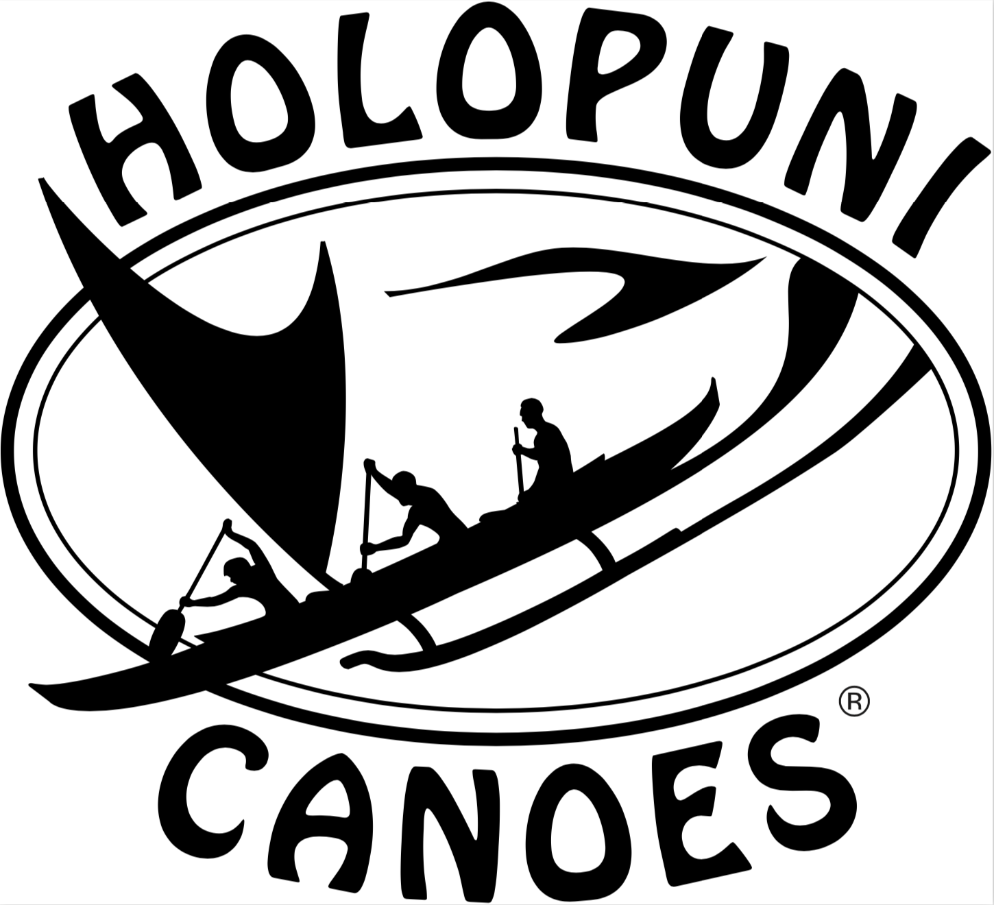 Hawaiian canoe clipart image freeuse stock Holopuni Canoes image freeuse stock